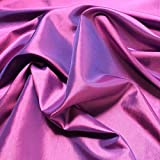 2 Meter Stoff Polyester Kleidertaft lila Taft dezenter