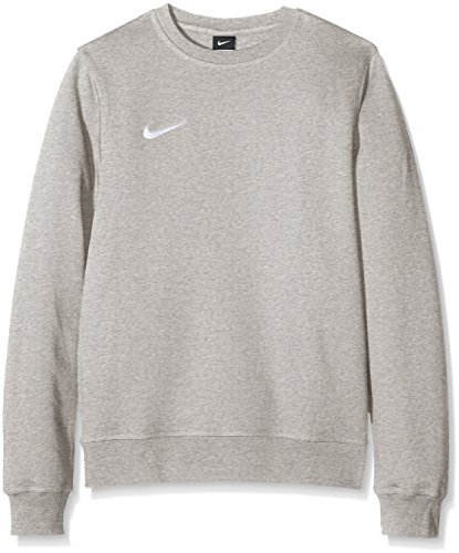 Nike Herren Sweatshirt Team Club Crew, Grau(Grey Heather/Football White), M
