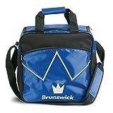 Brunswick Flash Single Tote-Bolsa de Bolas de Bolos para-Bola de Bolos y-Zapatos de Bolos