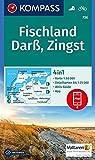 KOMPASS Wanderkarte Fischland, Darß, Zingst: 4in1 Wanderkarte 1:50000 mit Aktiv Guide und Detailkarten inklusive Karte zur offline Verwendung in der ... 1:50 000 (KOMPASS-Wanderkarten, Band 736)