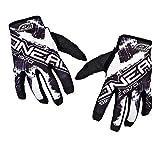 O'Neal Jump MX DH Handschuhe Shocker Schwarz Weiß Glove Handschuh, 0385JS-8, Größe M