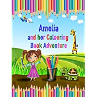 Personalised Colouring Book for Kids - A Fun Activity Adventure Book - Great Gift