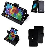 360 ° della copertura della cassa Smartphone Cubot X12, nero | Cassa del raccoglitore stand funzione Bookstyle. Migliore prezzo, migliore prestazione - K-S-Trade