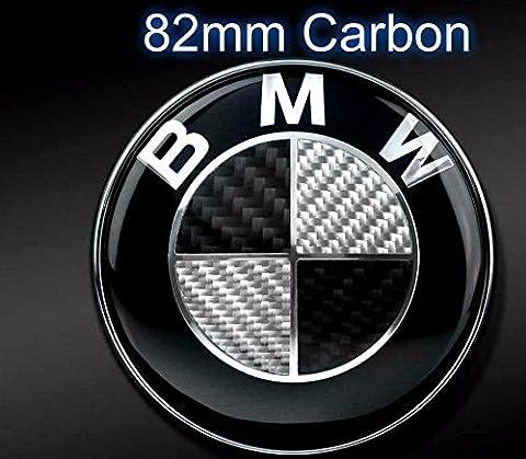 Dunwoth Carbon Motorhaube Emblem Black BMW E30 E36 E38 E39