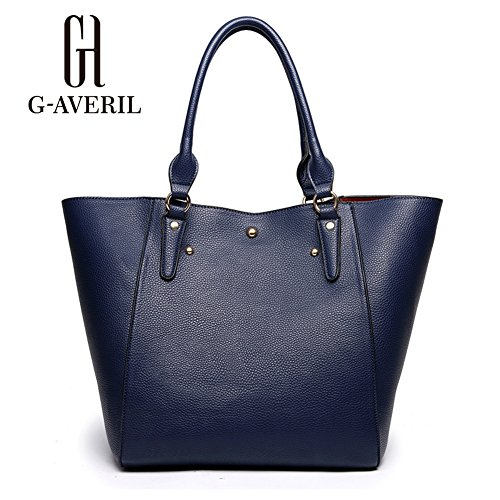 G-AVERIL, Borsa a mano donna rosso Red Navy Blue