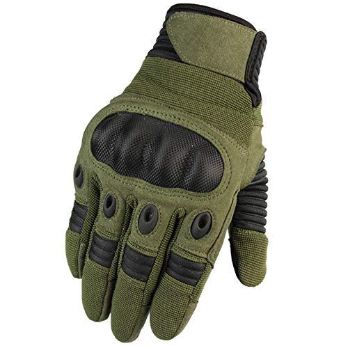 KnBoB Herren Handschuhe Fahrrad Fitness Handschuhe Energetics Fitness Handschuhe Rutschfest Grün B M