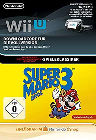 Super Mario Bros. 3 | Wii U Download Code