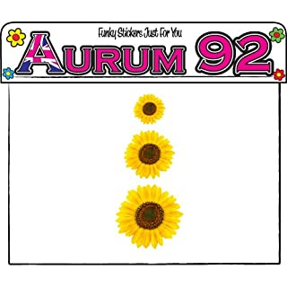 Aurum92 19 Sunflower Stickers