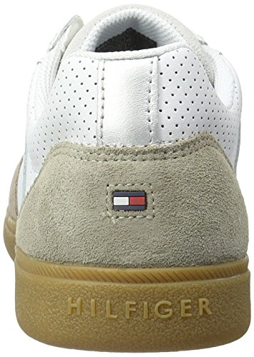 Tommy Hilfiger D2285anny 1c3, Sneakers Basses Homme Beige (Aluminium-white 905)