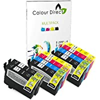 Colour Direct - 10 Compatibile Inchiostro Cartuccias - 29XL Sostituzione Per Epson Expression Home XP-235 XP-245 XP-247 XP-332 XP-335 XP-342 XP-345 XP-432 XP-435 XP-442 XP-445 Stampantes. 4 X 2991 2 x 2992 2 X 2993 2 X 2994 ( 10 Inchiostros )