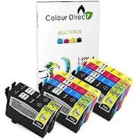 Colour Direct - 10 Compatible Ink Cartridges - 29XL Replacement For Epson Expression Home XP-235 XP-245 XP-247 XP-332 XP-335 XP-342 XP-345 XP-432 XP-435 XP-442 XP-445 Printers. 4 X 2991 2 x 2992 2 X 2993 2 X 2994 ( 10 Inks )