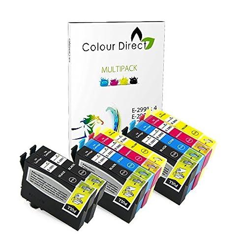 Epson Cartouche - Colour Direct - 10 Compatible cartouches d'encre