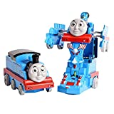 FunBlast Pull Push Back Action Robot Train Toy for Kids - Converting Train