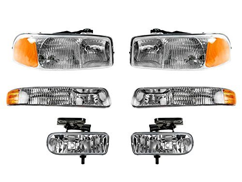 gmc-sierra-pickup-1999-2006-99-06-head-light-corner-park-fog-light-6-piece-set-by-auto-parts-avenue