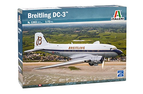 Italeri 1393 1:72 Dakota DC-3 Breitling
