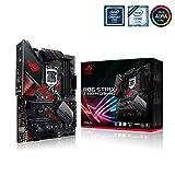 Asus ROG STRIX Z390-H GAMING Intel Z390 LGA 1151 (ottava/nona generazione) ATX  Scheda Madre da Gioco con Supporto DDR4 a 4266 MHz +, Doppio M.2, SATA 6Gbps, HDMI, USB 3.1 Gen 2, Nero