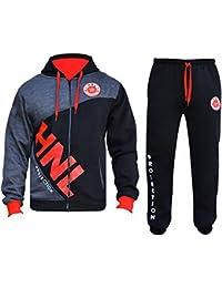 9ad9e6873df2 Star Trendz Mens Tracksuit Joggers Sweatshirt Hoddie Zip Up Top Jog Pants  Cuffed Trouser Bottoms Sports