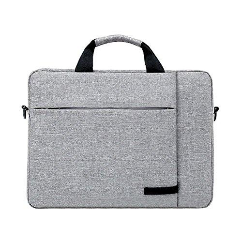 PANGOIE, 14-15 Zoll Laptop-Tasche, Männer Aktentasche Nylon Business Bag Damen Schulter Messenger Bag,1-14inch Nylon Notebook-tasche