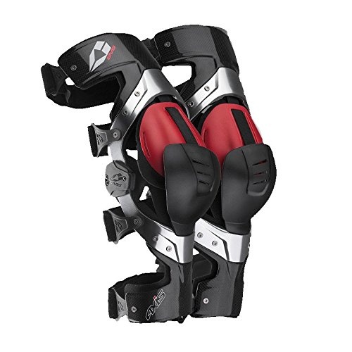 AXIS-P-SR - EVS Axis Pro Knee Brace S/Right Aluminium Carbon