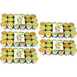 Hillfield - 180velas de té, aroma de limones, aroma anti mosquitos