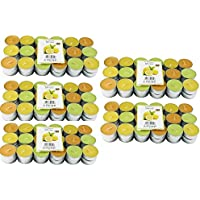 180zitronella Aroma Lichte velas de té, colores, aroma de limones, aroma anti mosquitos velas, velas perfumadas velas, Exterior, repelente de mosquitos, Hillfield