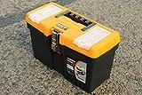 13' JUMBO Werkzeugkoffer Leer Werkzeugkasten Werkzeugkiste Werkzeug Box Kunststoff Kiste - 32x16x19cm