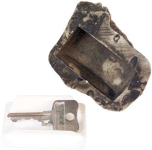 Lunartec Schlüsselversteck: Geheimversteck in echter Steinoptik - für Schlüssel, Caches u.v.m. (Schlüsselsafe Stein)