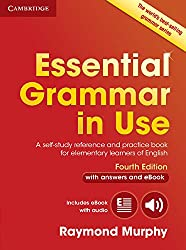 Essential Grammar in Use with Answers and Interactive eBook: A Self-Study Reference and Practice Book for Elementary Learners of English