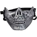 Easy Provider Softair Maske Totenkopf Schädel Halbschutzmaske Skelett