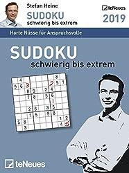Sudoku schwierig bis extrem 2019 Tagesabreißkalender