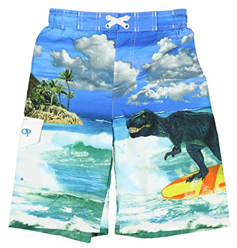 ocean-pacific-boys-t-rex-dinosaur-surfing-swim-shorts-x-large-14-16