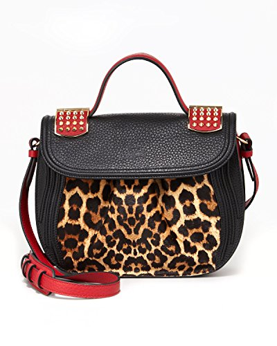 borsa-donna-christian-louboutin-dompteuse-messenger-pony-colore-nero