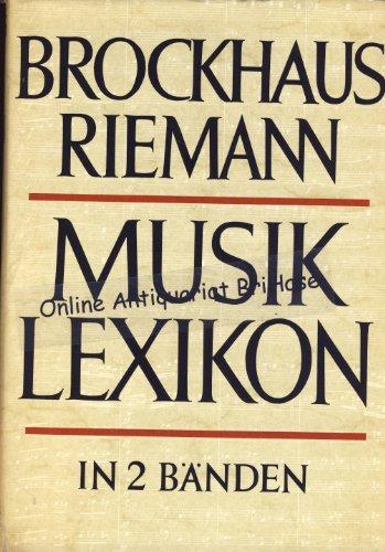 Brockhaus Riemann - Musiklexikon