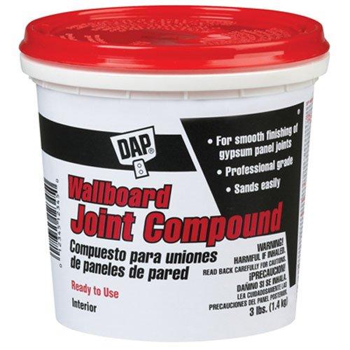 DAP 10100Wallboard Gelenk Compound, Hammer, Normalstahl 3 lb weiß -