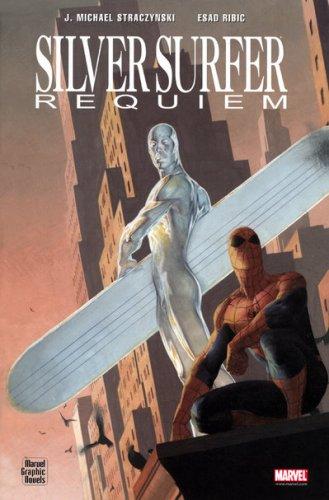 Silver Surfer : Requiem : Kyrie, Sanctus, Benedictus, Agnus Dei par  Joe Michael Straczynski, Esad Ribic, Ram, Laurence Bélingard