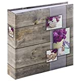 Hama Rustico Lilac photo album - photo albums (220 mm, 225 mm, Lilac, 100 sheets, 10 x 15, 200 sheets)