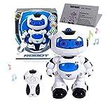 SAYEEC Remote Robot Toys, Electronic Action Walking Dancing Smart Space Dancing Robot Astronaut