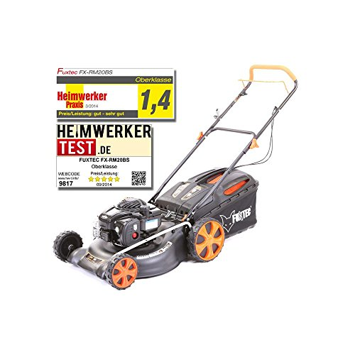 FUXTEC FX-RM20BS Manual Lawn Mower 2600 W Lawn Mower Lawn Mowers (Manual Lawn Mower, 50 cm, 2.5 cm, 7.5 cm, 60 L, 0.140 L)