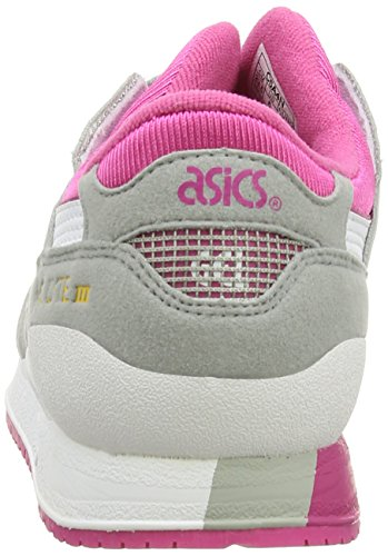 ASICS Gel-Lyte III GS, Chaussures Multisport Outdoor Mixte adulte Gris (Light Grey/White 1301)