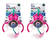 Munchkin Baby 2 Pack Tip & Sip Straw Cups Pink 7OZ 6 months - Best Reviews Guide