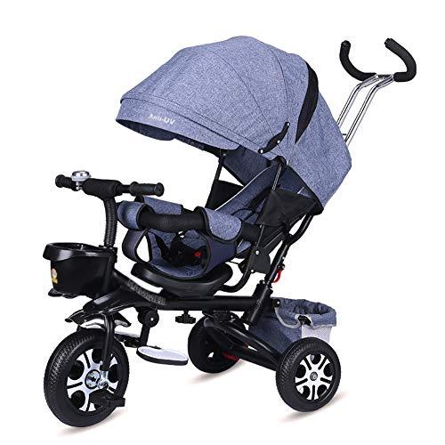 Triciclos- Bicicleta For Niños 4 En 1 For Bebés Y Niños...