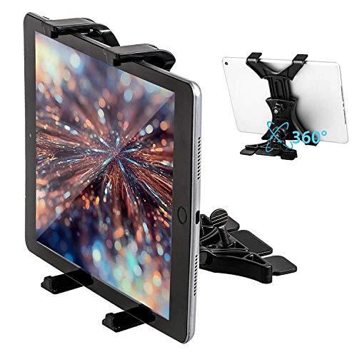 Linkstyle Supporto da Auto per Tablet CD Auto Supporto da Auto Universale per Tablet Regolabile per Tablet da Quasi 7-12'