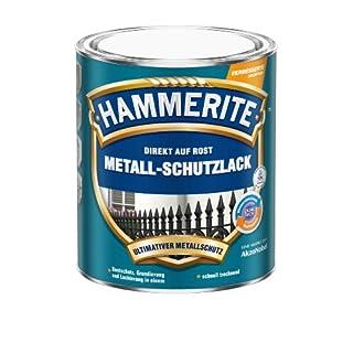 AKZO NOBEL (DIY HAMMERITE) Metall-Schutzlack, Matt-Schwarz 0,750 L, 5134937