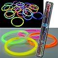 15 Neon Glow Glo In The Dark Sticks Bracelets Hen Nights Kids Adults Party Bags