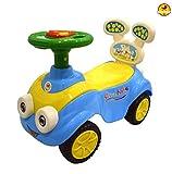 BayBee MantizMoo Push Car (Blue)