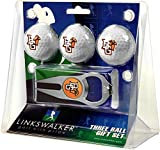 LinksWalker 3 Bowling Green falcons-3 Ball Geschenk Pack mit Hat Trick Pitchgabel, Weiß, One size