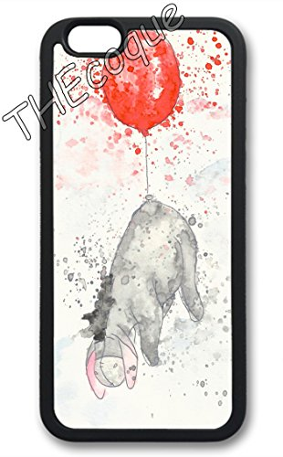 Coque silicone BUMPER souple IPHONE 5/5s/SE - bourriquet eeyore CASE tpu DESIGN + Film de protection INCLUS 4