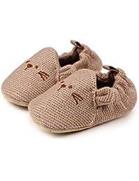 LanLan Zapatos de niños, Calzados/Zapatillas/Sandalias de niños Bebé recién Nacido Lindo ratón de Dibujos Animados Zapatos Animales Suaves algodón niño Zapatos