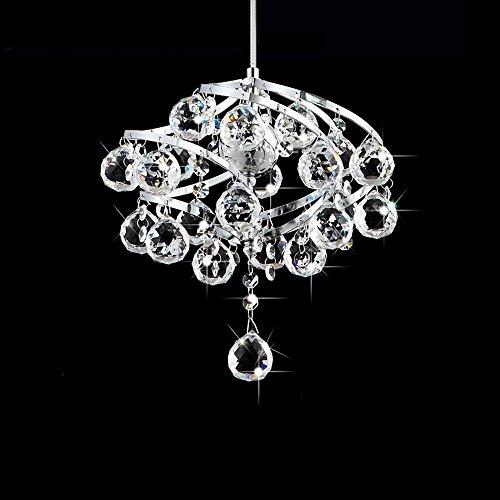 XCJ Modern Crystal Raindrop Chandelier Lighting Flush Mount Led Ceiling Light Fixture Pendant Lamp for Dining Room Bathroom Bedroom Livingroom Height 80 cm Width 26 cm &Mdash;&Mdash;Wshceilinglamp Modern Raindrop Kronleuchter