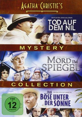Bild von Agatha Christie's Mystery Collection: Tod auf dem Nil / Mord im Spiegel / Das Böse unter der Sonne [3 DVDs]